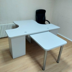 серый офис